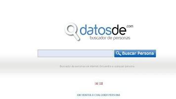 Screenshot of Buscador de Personas 2.0