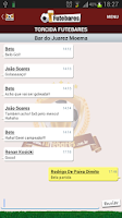 Screenshot of Futebares