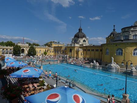 Spa Budapesta: Piscine la Szechenyi