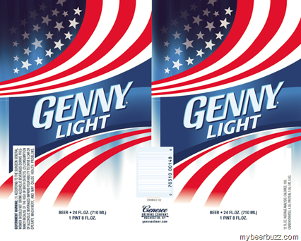 A Sneak Peek At The New Genny Light 16oz & 24oz Cans From