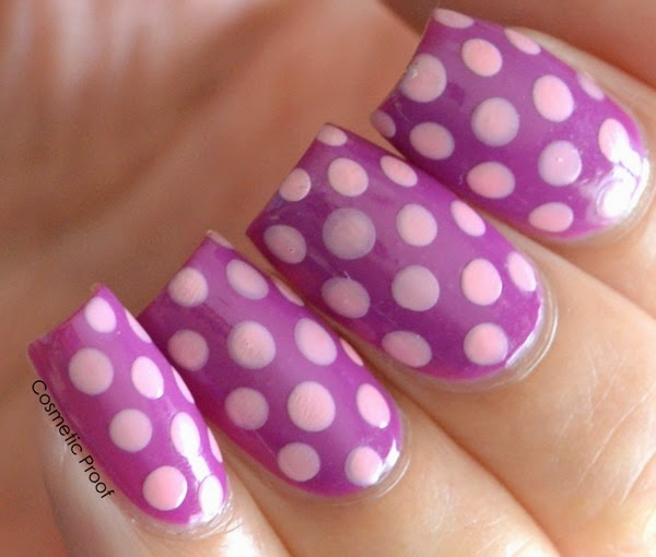Polka Dots with Revlon Gel Envy Up the Ante and Cardshark (2)