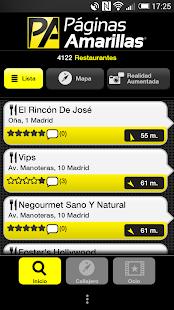 Páginas Amarillas España - screenshot thumbnail