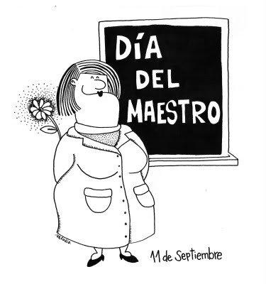 DIA DEL MAESTRO DIBUJOS PARA PINTAR