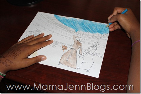 The Imagination Station: Voyage with the Vikings Coloring Page