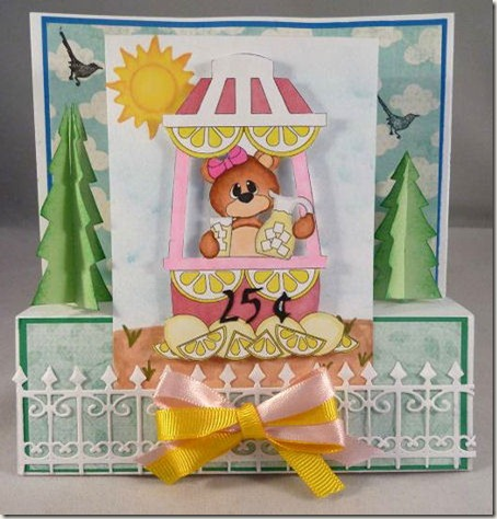 lemonade stand bear card-450