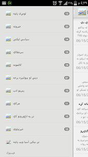Pashto Afghan News - nunn.asia- screenshot thumbnail