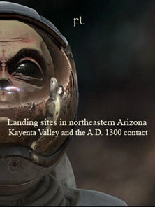 Landing sites in northeastern Arizona Cover
