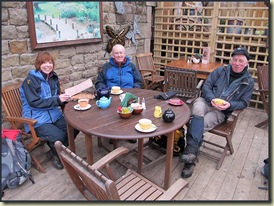 Nancy, Jim and Alan in Scorton