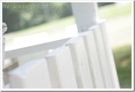 picket fence porch railings