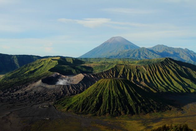 The out of the world scenery at Bromo-Tenegger-Semeru National Park