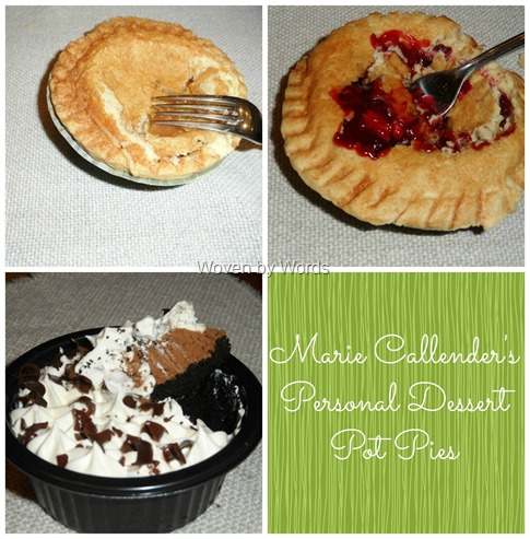 Dessert Pies Collage