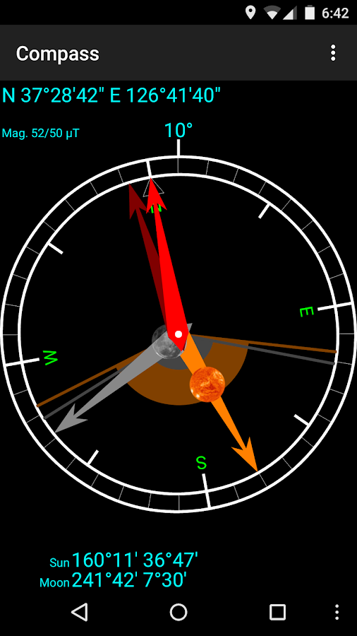 Living in the sun - Sundial - screenshot