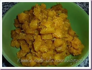 Polpette di zucca vegetariane al sugo di pomodoro e funghi (4)