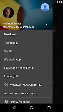 Google News & Weather 2.3 screenshot 2416
