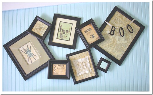 An Easy Way For Hanging Crooked Frames
