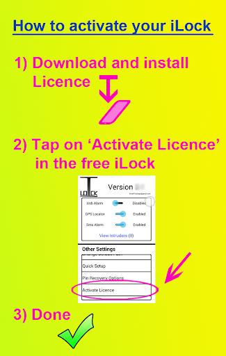 iLock Pro Licence