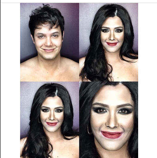 PHOTOS: Dad Transforms Himself Into Celebrities Using Makeup And Wigs 17