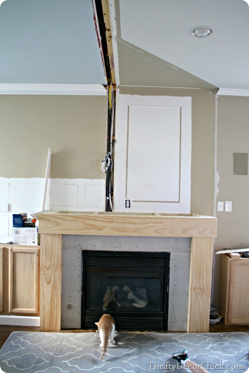 touch up fireplace with high heat paint