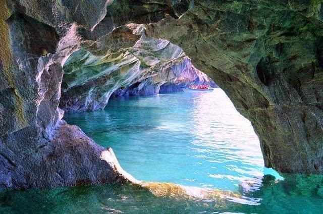 Patagônia – a beleza da caverna de Marmol 3