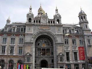 Gare centrale à Anvers