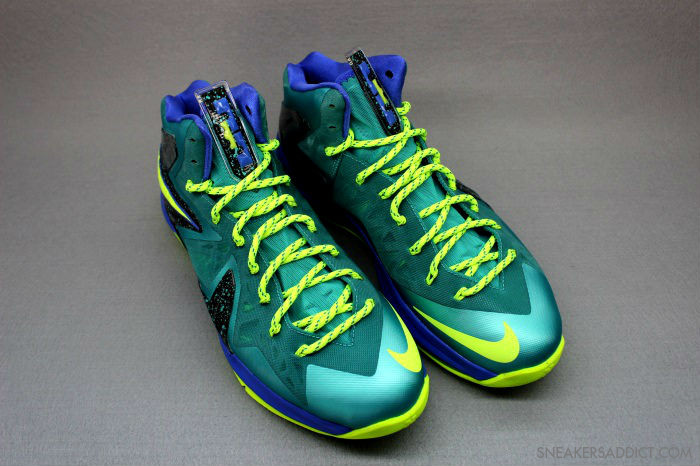 online store 3d54a 8193a ... A Detailed Look at LeBron X PS Elite 8220Turquoise8221 Slated for 525  ...