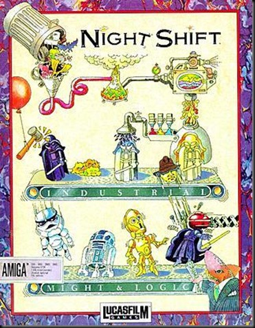 Night Shift Amiga Box