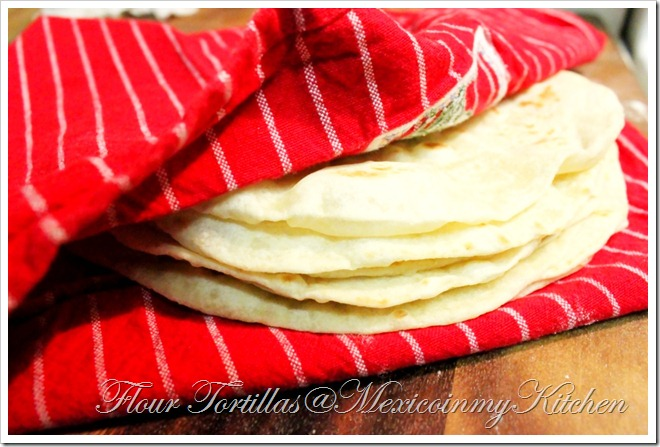 How to make Flour Tortillas homemade