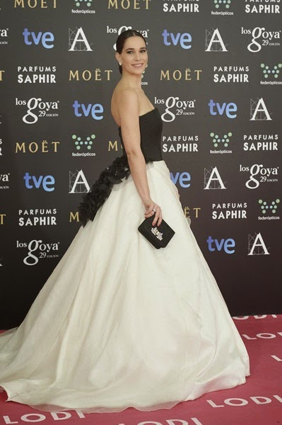 Celia Freigeiro attends Goya Cinema Awards
