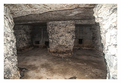 Eine Raum in der U-Verlagerung Saar