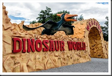 Entrance to Dinosaur World Kentucky
