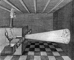 Athanasious Kircher - magic lantern