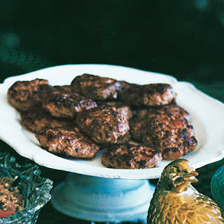 Turkey Sausage Patties.