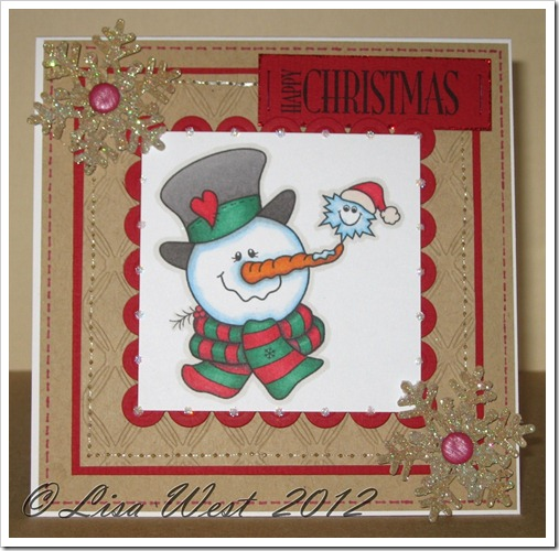 Frosty Friends Christmas Card (2)