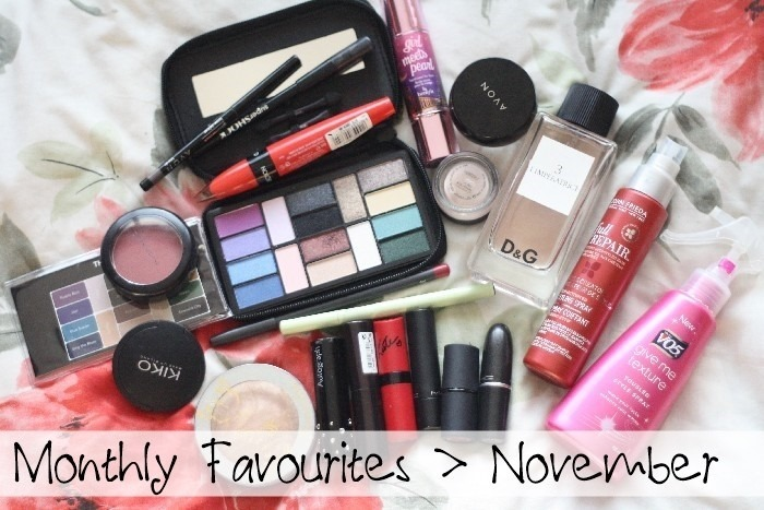 Monthly Favourites November
