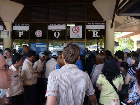 Vacanta Cambogia: Casa bilete Angkor Wat