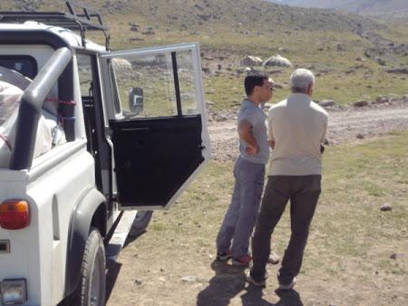 Iran Sabalan unde punem cortul tabara 2700m
