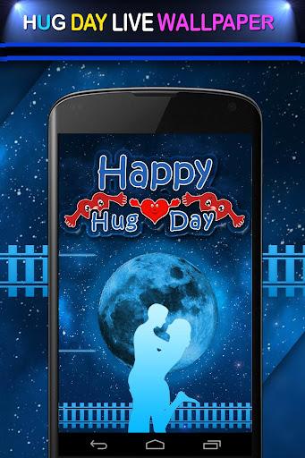 Valentine Hug Day Wallpaper