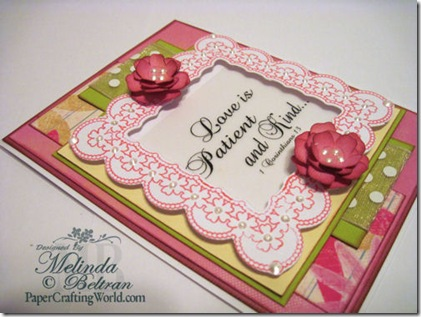 close up of love card-500