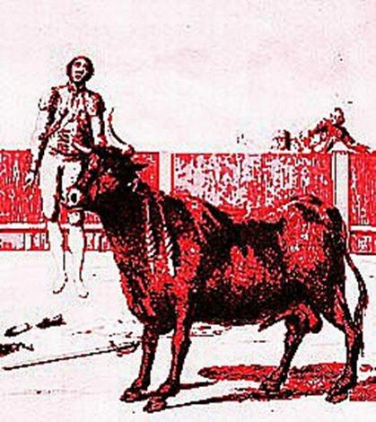 1801 Muerte en el ruedo del torero Pepe Hillo - copia