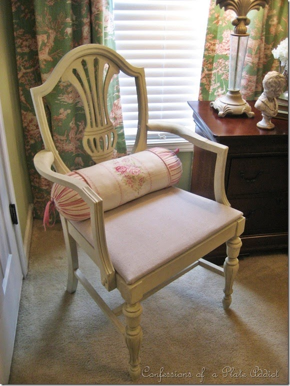 CONFESSIONS OF A PLATE ADDICT How to Give a Chair Country French Style...Before