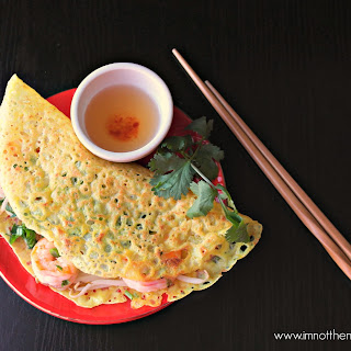 Vietnamese Sizzling Crepes