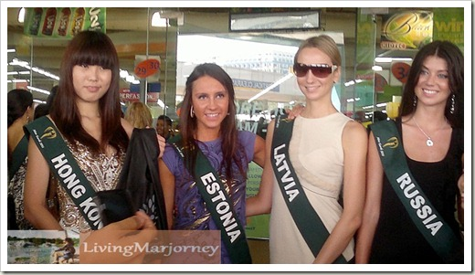 Miss Hong Kong, Estonia, Latvia and Russia