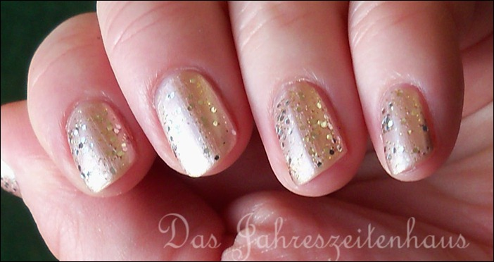 Silvester Nageldesign Champagner Nails 7