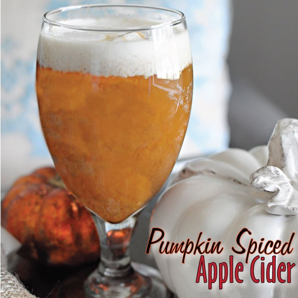 #HarvestFun Mott's Pumpkin Spiced Apple Cider Recipe #shop