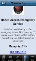 Screenshot of United Access