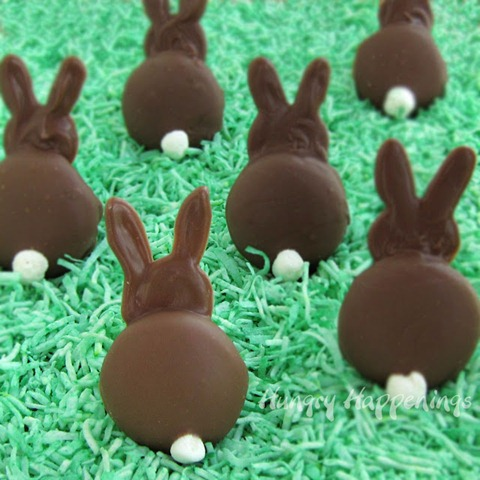wow me Chocolate Easter bunnies, bunny, rabbit, cookies, cookie, milk, candy melts, recipe