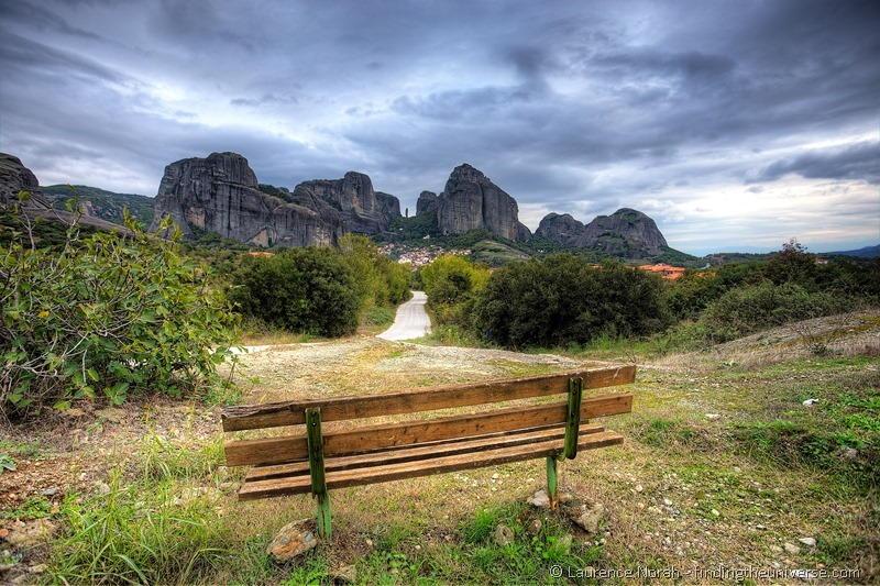Bench in Meteora