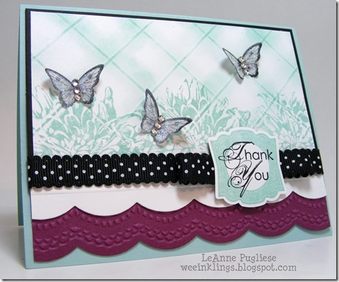 LeAnne Pugliese Paper Players 163 WeeInklings Papillon Potpourri
