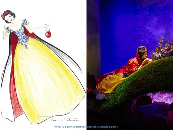 Snow White by Oscar de la Renta2