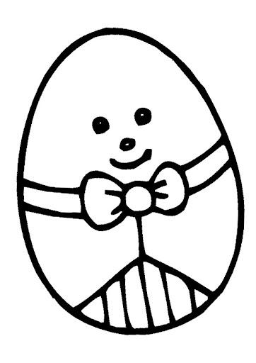 Afbeelding Konijn Kleurplaat Colorear Huevos De Pascua